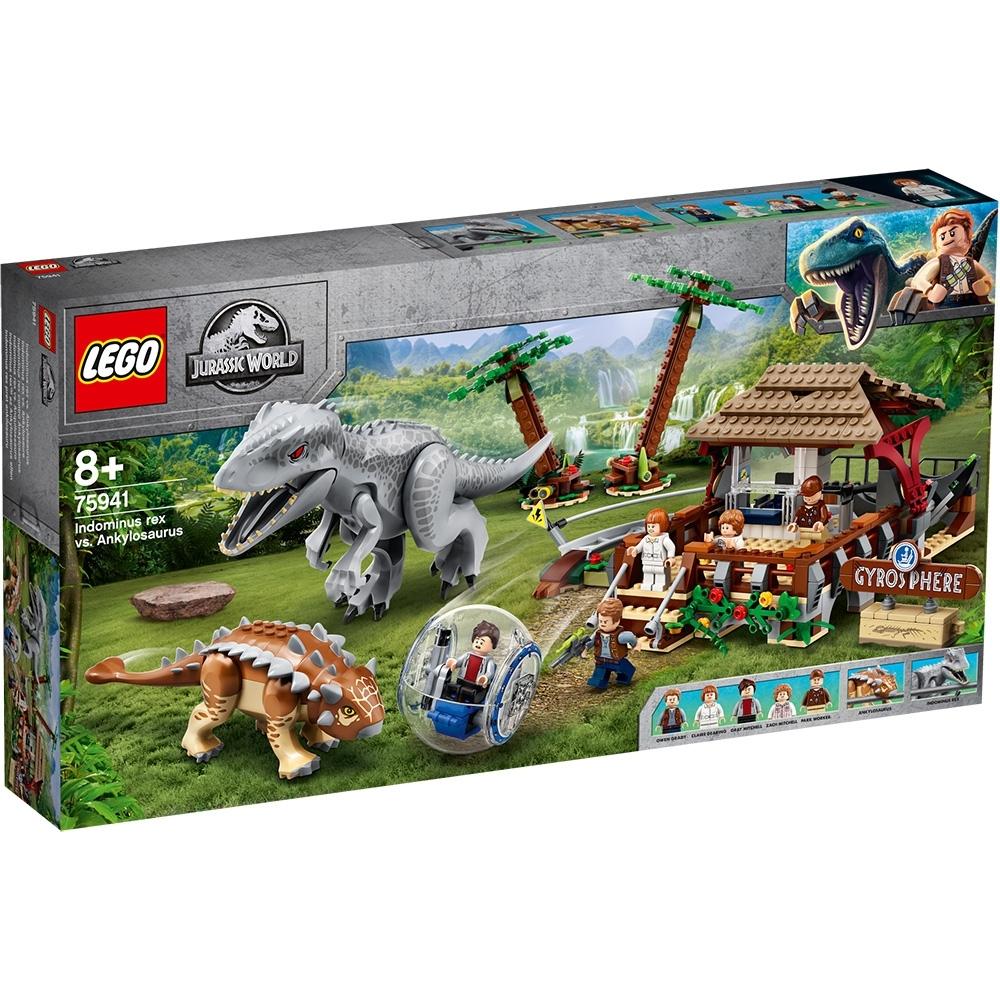 樂高LEGO 侏儸紀世界系列 - LT75941 Indominus Rex vs. Ankylosaurus