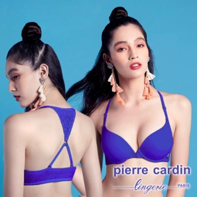 皮爾卡登_交叉美背前扣內衣(單件-DPP藍紫)