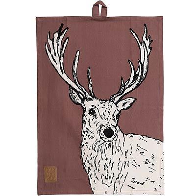 CreativeTops Wild純棉布巾(鹿)