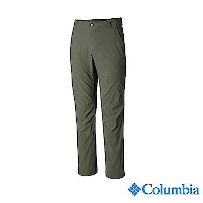 Columbia 哥倫比亞 男款-UPF50防潑長褲-軍綠 UAE06680AG