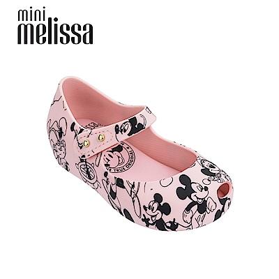 Melissa X Mickey 娃娃鞋寶寶款-粉色