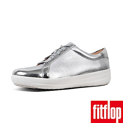 FitFlop F-SPORTY II TEXTURED METALLIC-銀色