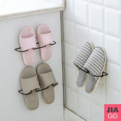JIAGO 免釘無痕掛壁式立體鞋架