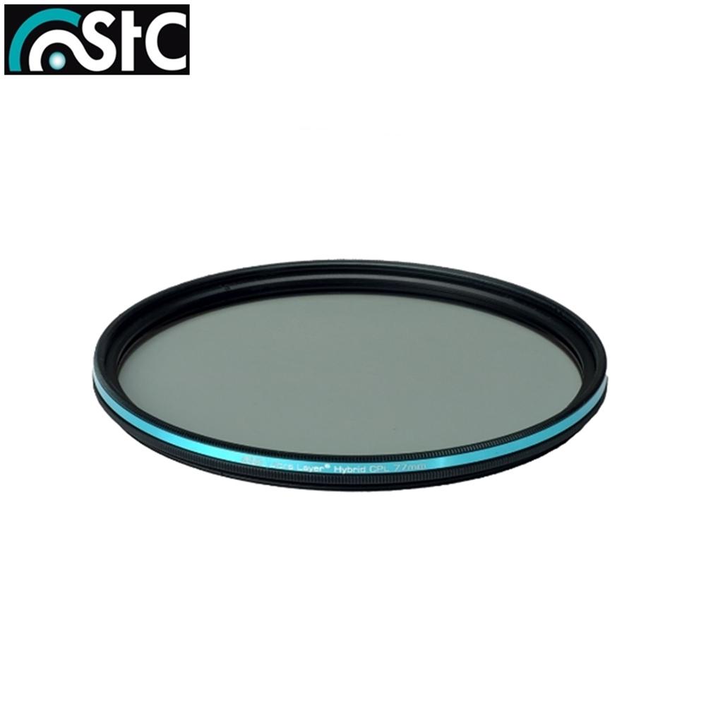 台灣STC雙面AS奈米鍍膜抗靜電極致透光Hybrid CPL 77mm偏光鏡(-0.5EV;可作保護鏡用)