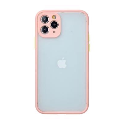 【TOYSELECT】iPhone 12 Pro Max 醇色MELLOW減震防摔手機殼 - 綿綿粉