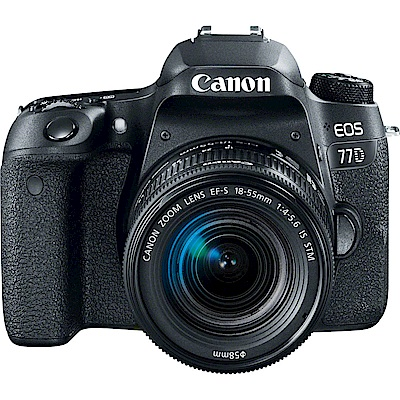 Canon EOS 77D 18-55mm STM (中文平輸)