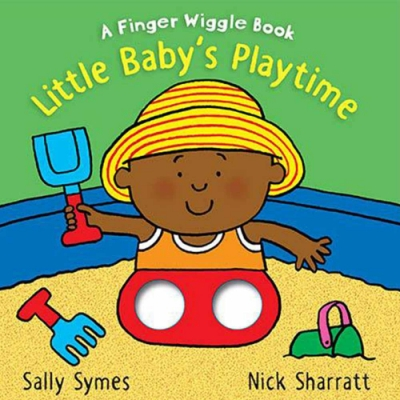 Little Baby s Playtime:A Finger Wiggle Book 寶寶玩耍手指遊戲書
