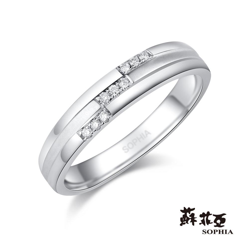 蘇菲亞SOPHIA 鉑金戒指-無盡的愛鉑金鑽石女戒