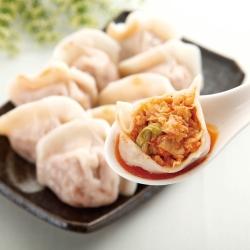 任選_鄉味 泡菜水餃(50顆/包)