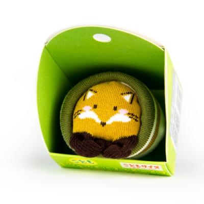 【SUKENO】超萌動物園造型兒童襪 - 可愛狐狸
