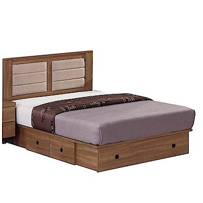 文創集 派麥德3.5尺單人床台(床片+抽屜床底+不含床墊-106x191.8x93cm免組