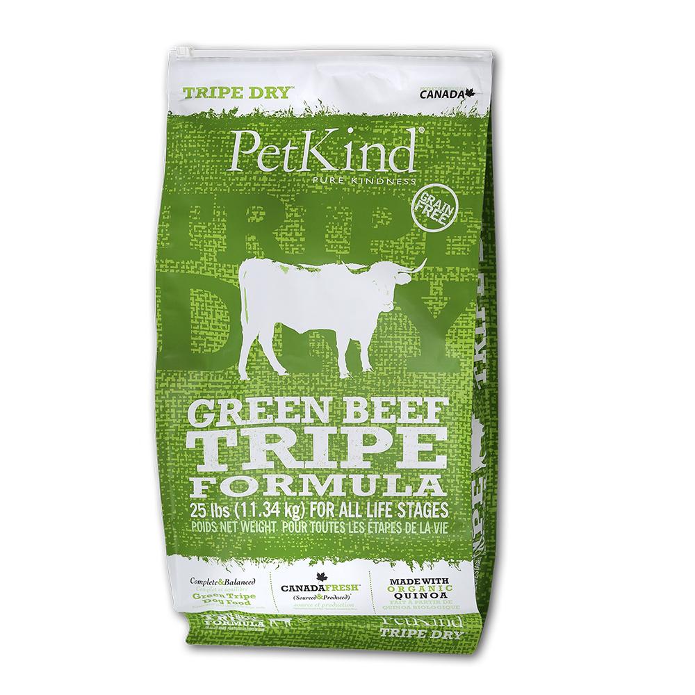 PetKind 野胃 天然鮮草肚狗糧 風味牛 25磅