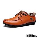 Men Inc.「車神」保暖禦寒駕車鞋 (黃棕)
