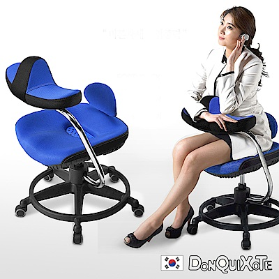 DonQuiXoTe-韓國原裝Reverse智慧工學椅-藍