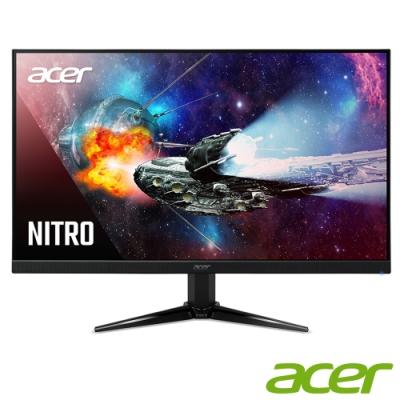 Acer QG271 27型 VA無邊框電競電腦螢幕