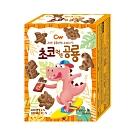 韓國CW恐龍造型餅乾 巧克力味(60g)