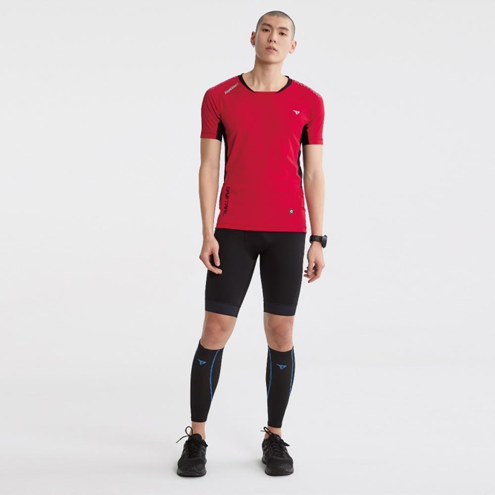 SUPERACE SA-TRAIL 修身版越野跑上衣2.0 / 男款 / 紅色