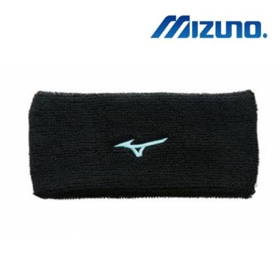 Mizuno美津濃 男女寬頭帶(6只入) 黑x藍 32TY9X5592Q