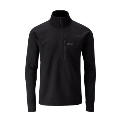 【RAB】Power Stretch Pro 保暖上衣 男款 黑色 #QFE62