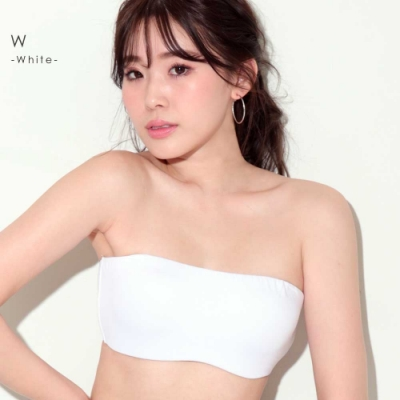 aimerfeel 時尚半罩杯無痕內衣-白色-598911-W