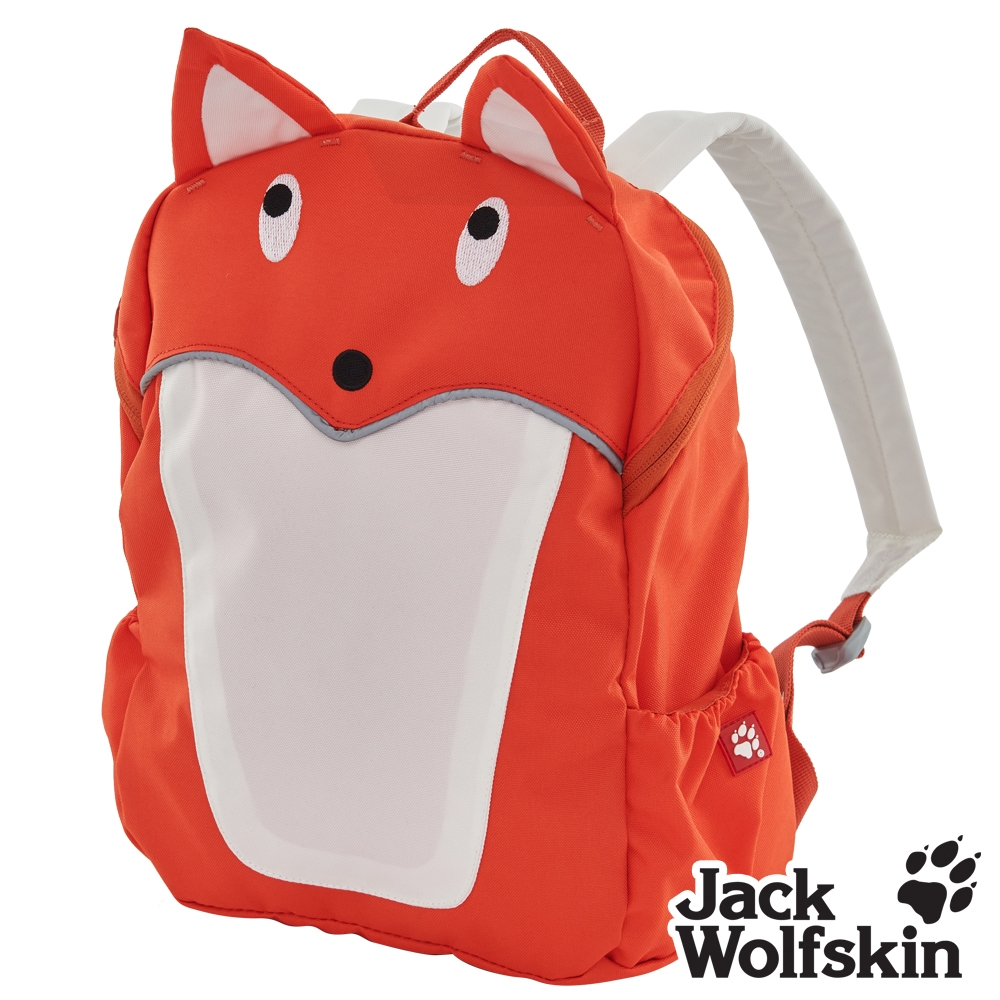 【Jack wolfskin 飛狼】Fox 可愛狐狸兒童背包『橘』