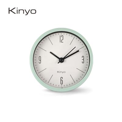 KINYO北歐粉彩鬧鐘(粉)ACK7103G