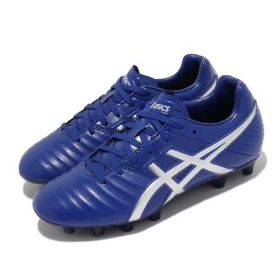 Asics 足球鞋 DS Light Wide 3 寬楦 女鞋 亞瑟士 皮革鞋面 舒適 支撐 輕量 藍 銀 TSI753400