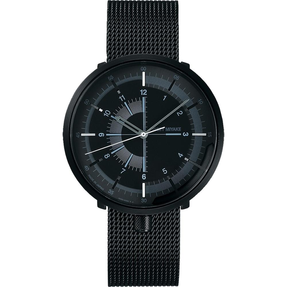 ISSEY MIYAKE 三宅一生 One-Sixth 米蘭帶手錶(NYAK001Y)