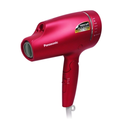 [送美妝鏡] Panasonic 國際牌奈米水離子吹風機(桃紅) EH-NA9B-RP