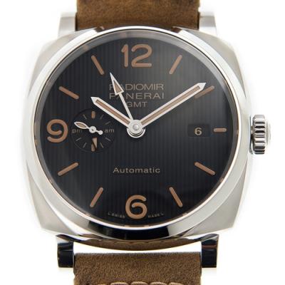 PANERAI 沛納海(PAM00657) <b>3</b>日鍊 GMT腕表x45mm