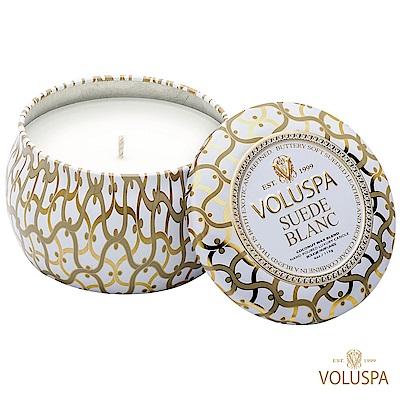 美國香氛VOLUSPA 白屋系列 Suede Blanc 布蘭克絨 113g