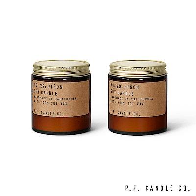 美國 P.F. Candles CO. No.29 北美松針二入組 香氛蠟燭 99g*2