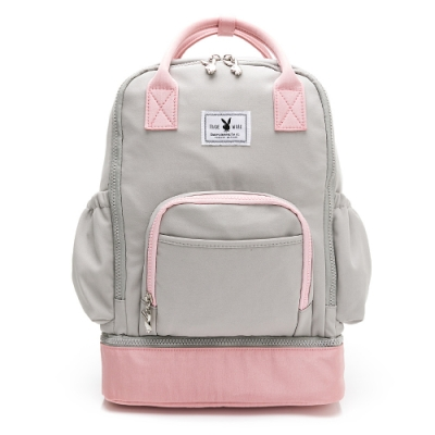 PLAYBOY-  後背包 GOOD DAY-粉色