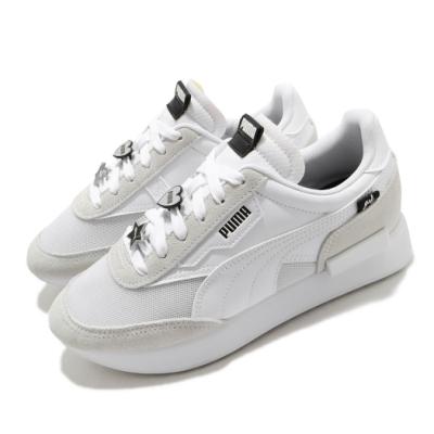 Puma 休閒鞋 Future Rider 運動 女鞋 基本款 簡約 厚底 舒適 穿搭 灰 白 38012102