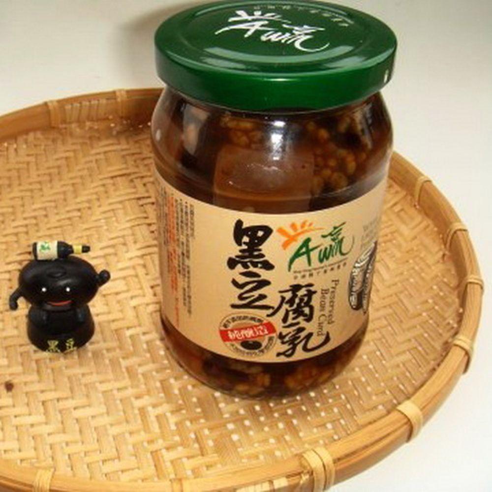 台南下營區農會 黑豆腐乳(380g)