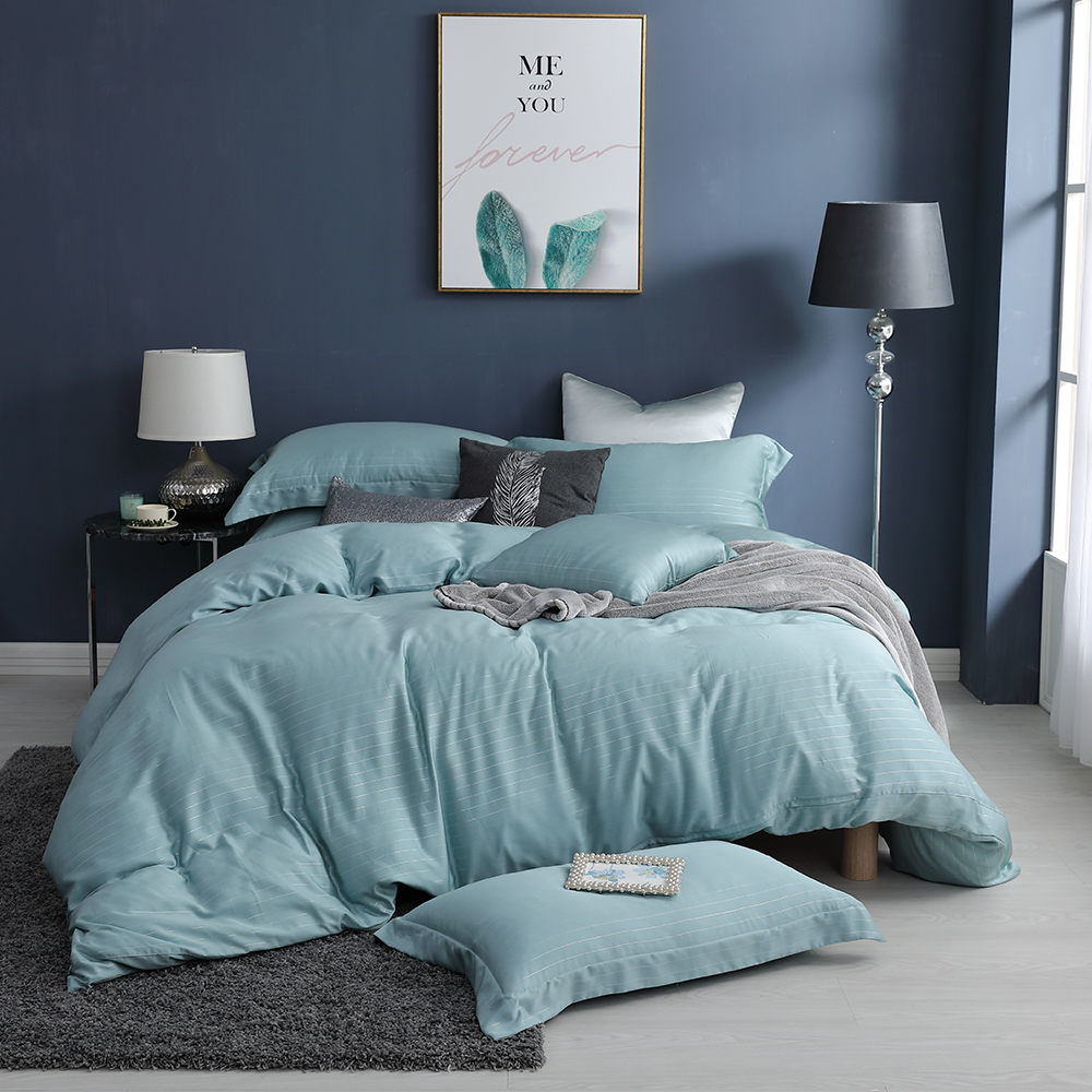 LASOL睡眠屋-100%奧地利天絲 雙人兩用被床包四件組lasol經典原色