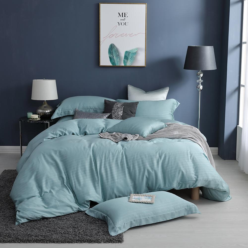 LASOL睡眠屋-100%奧地利天絲 加大兩用被床包四件組lasol經典原色