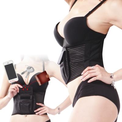 【JS嚴選】*全台首創口袋型*輕量化護腰帶(送爆汗腰夾)