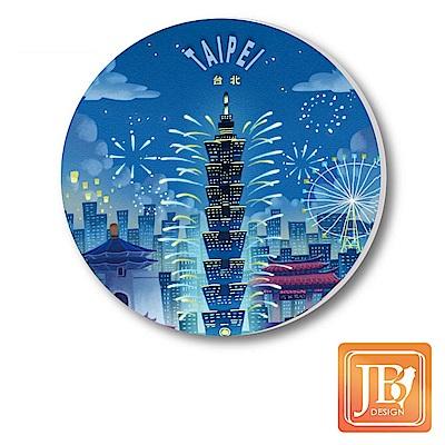 JB-Design陶瓷吸水杯墊771_台北天燈