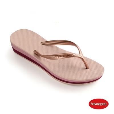 Havaianas哈瓦仕 拖鞋 厚底 夾腳拖 人字拖  巴西 女鞋 芭蕾粉 4001030-3606W Sandalias  High Light