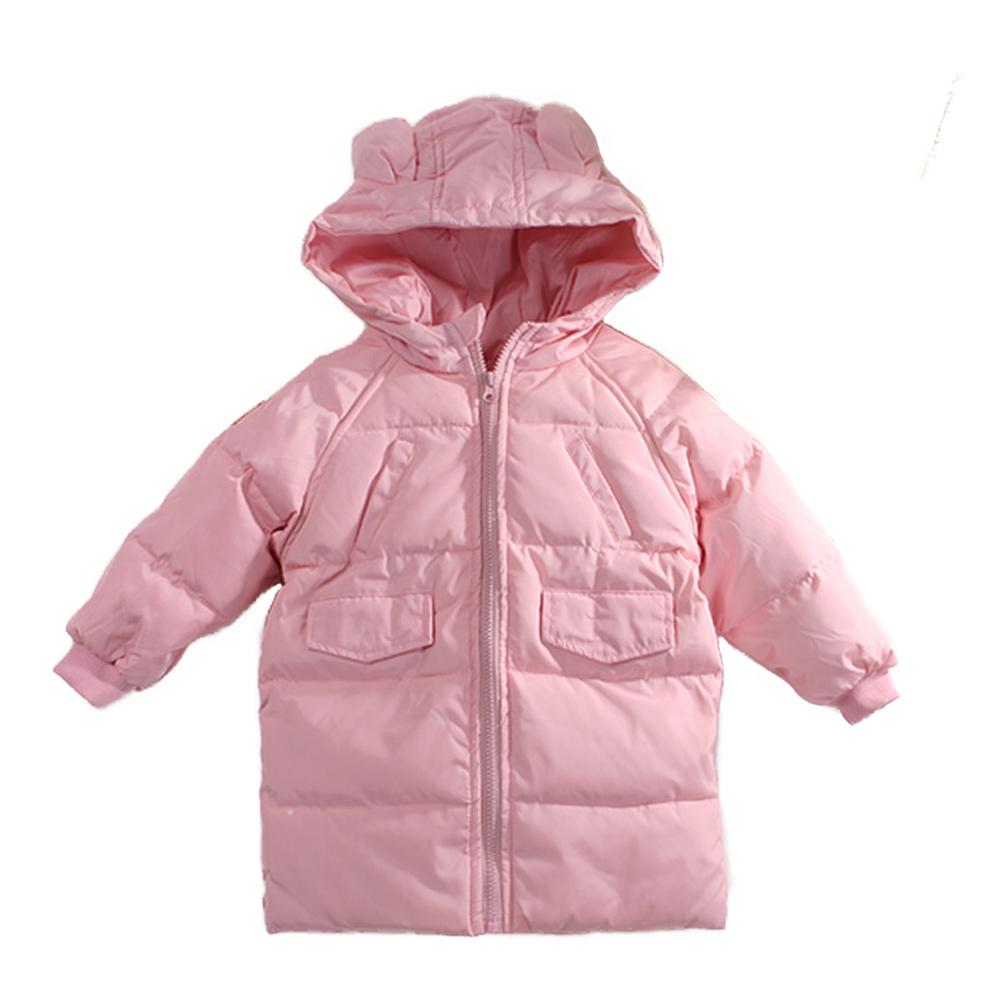 厚鋪棉連帽長版外套 k60806 魔法Baby