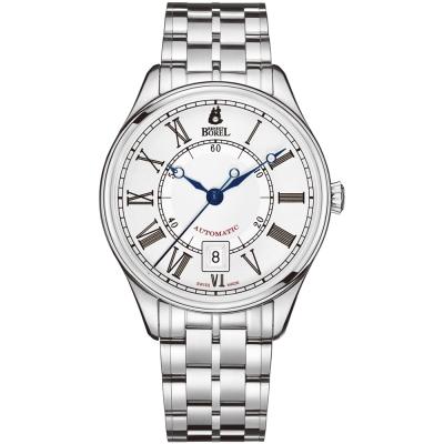 ERNEST BOREL 瑞士依波路錶 復古系列-白色40.5mm