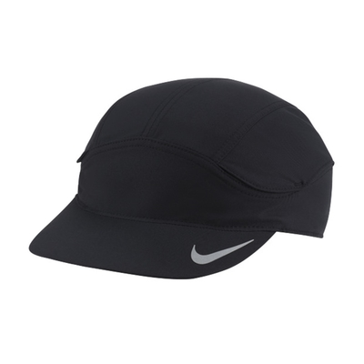 Nike DF TLWD FAST CAP 遮陽 運動帽-黑-DC3633010