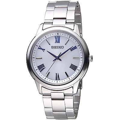 SEIKO精工SPIRIT簡約太陽能腕錶(SBPL007J)-39mm
