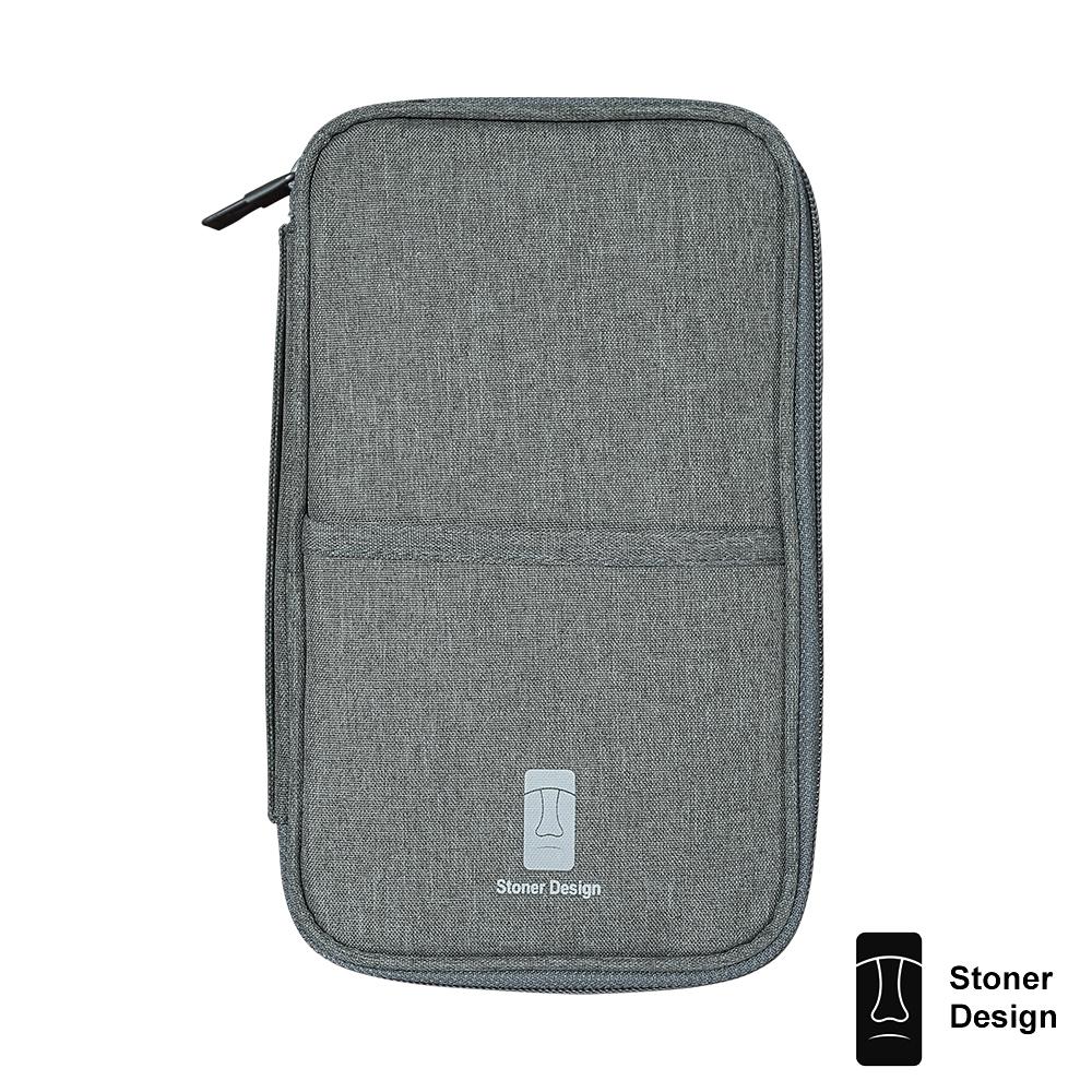 Stoner Design 多功能證件收納包 手拿包 卡夾 護照包