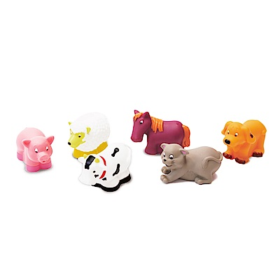 美國 B.Toys 洗澡玩具-農場-Battat系列