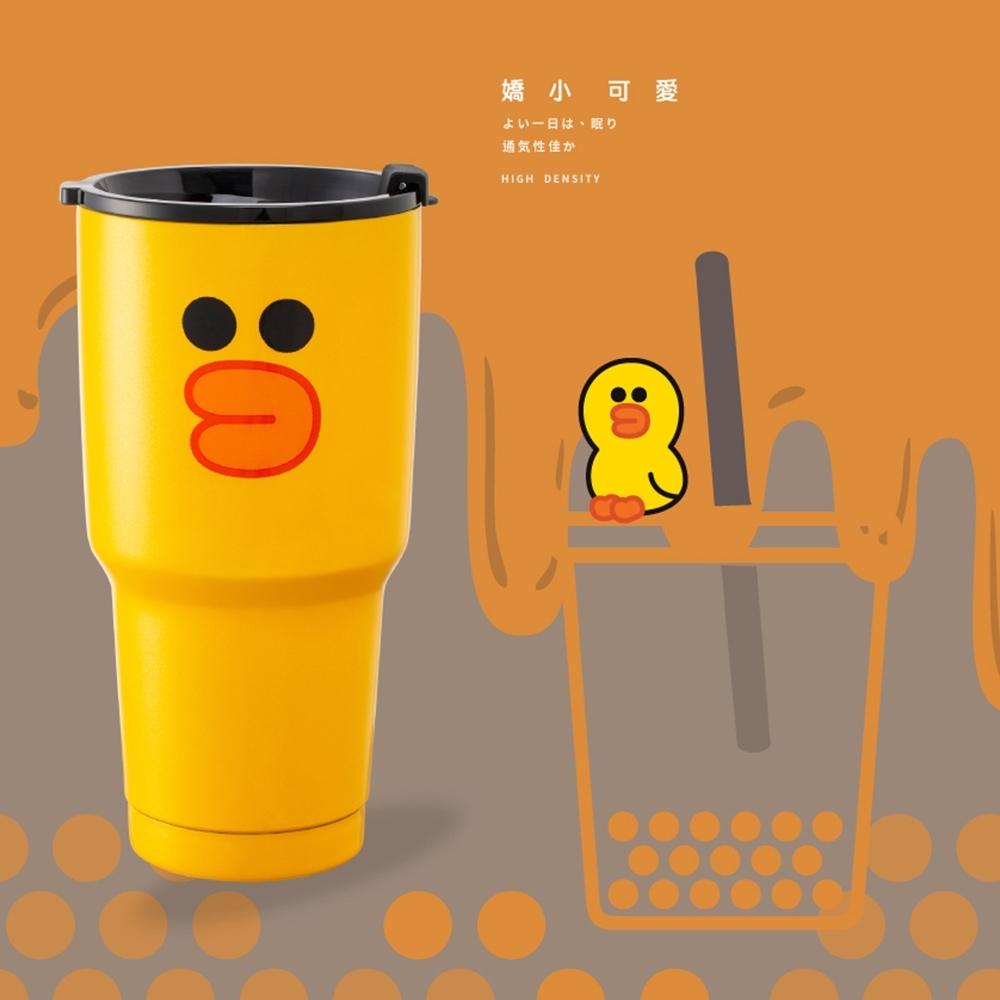 [買一送一]LINE FRIENDSxHELLO KITTY不鏽鋼杯900ML (莎莉)