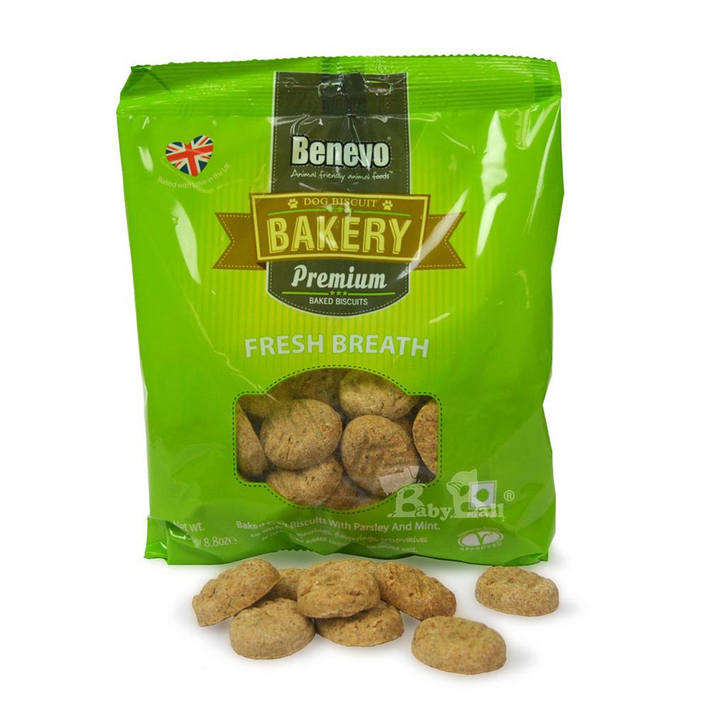 Benevo 倍樂福 英國天然素食消臭小餅乾250gX2入