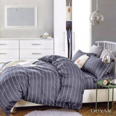 DUYAN竹漾 MIT 天絲絨-雙人床包枕套三件組-約書亞之諾