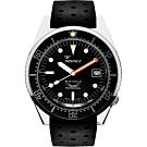SQUALE 鯊魚錶 1521經典系列機械錶-黑/42mm